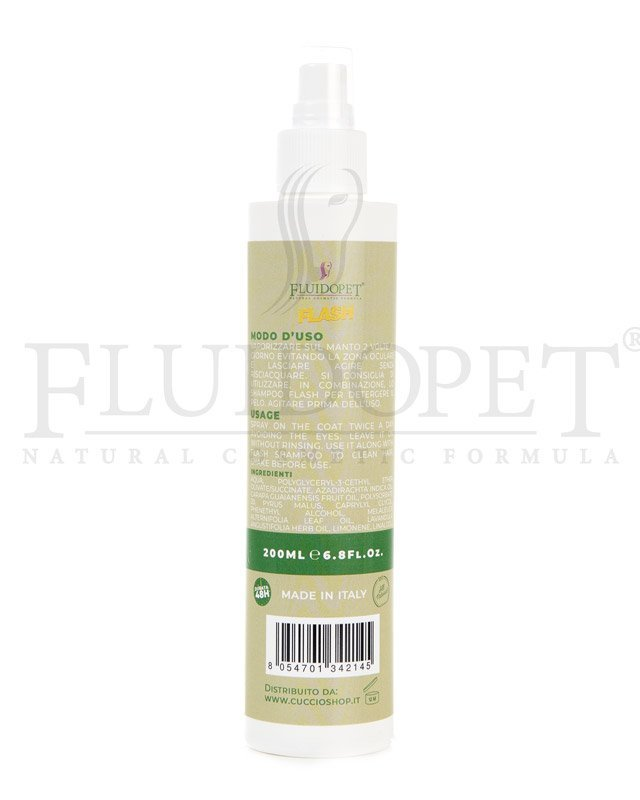 FluidoPet Flash lozione spray