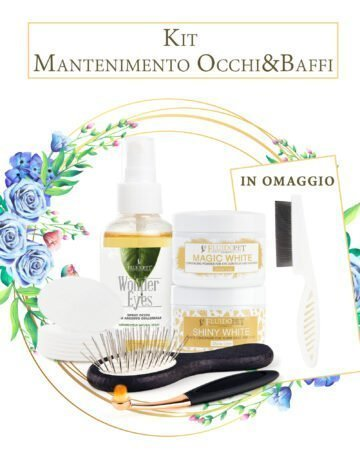 kit mantenimento occhi e baffi - eye and moustache maintenance kit